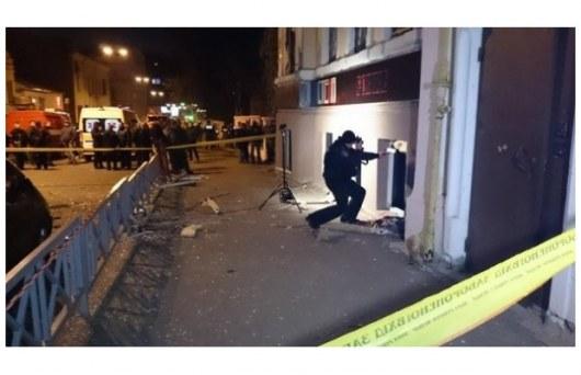 ВИДЕО,ФОТО: Взрыв в Харькове: 11 человек изранены